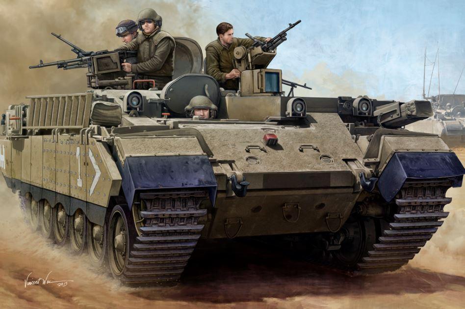 83868 HobbyBoss IDF APC Puma Tank Armored Carrier Vehicle Car 1 35 Model Kit DIY