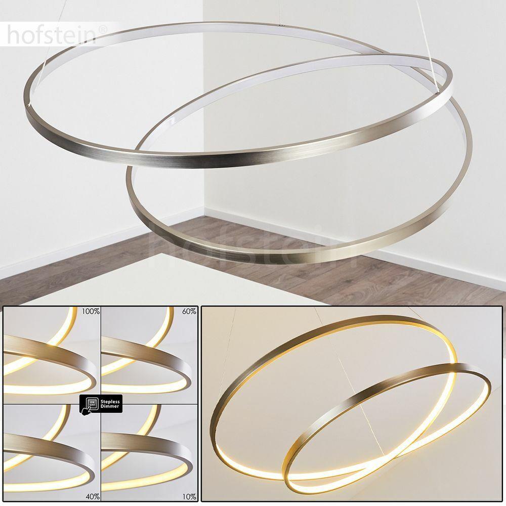 LED Wohn Ess Schlaf Zimmer Memory Funktion Pendel Lampen dimmbare Hänge Leuchten