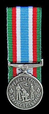 Canada U.N CPSM Canadian Peacekeeping Service Miniature Court Mounted Medal