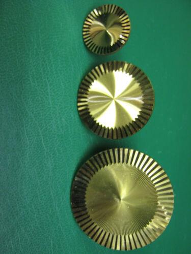 KNOB SOLID BRASS FURNITURE HANDLE LILLY 8537 Geometric Machined Modern Stylish