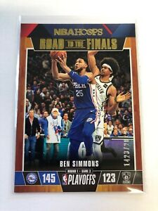 2019-20-Panini-NBA-Hoops-BEN-SIMMONS-9-Road-To-The-Finals-1423-2019-76ERS
