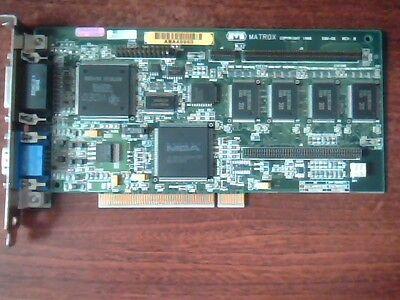 DELL 53248 MATROX MGA-MIL//4//DELL PCI VIDEO ADAPTER MGA IS-MGA-2064W-R2
