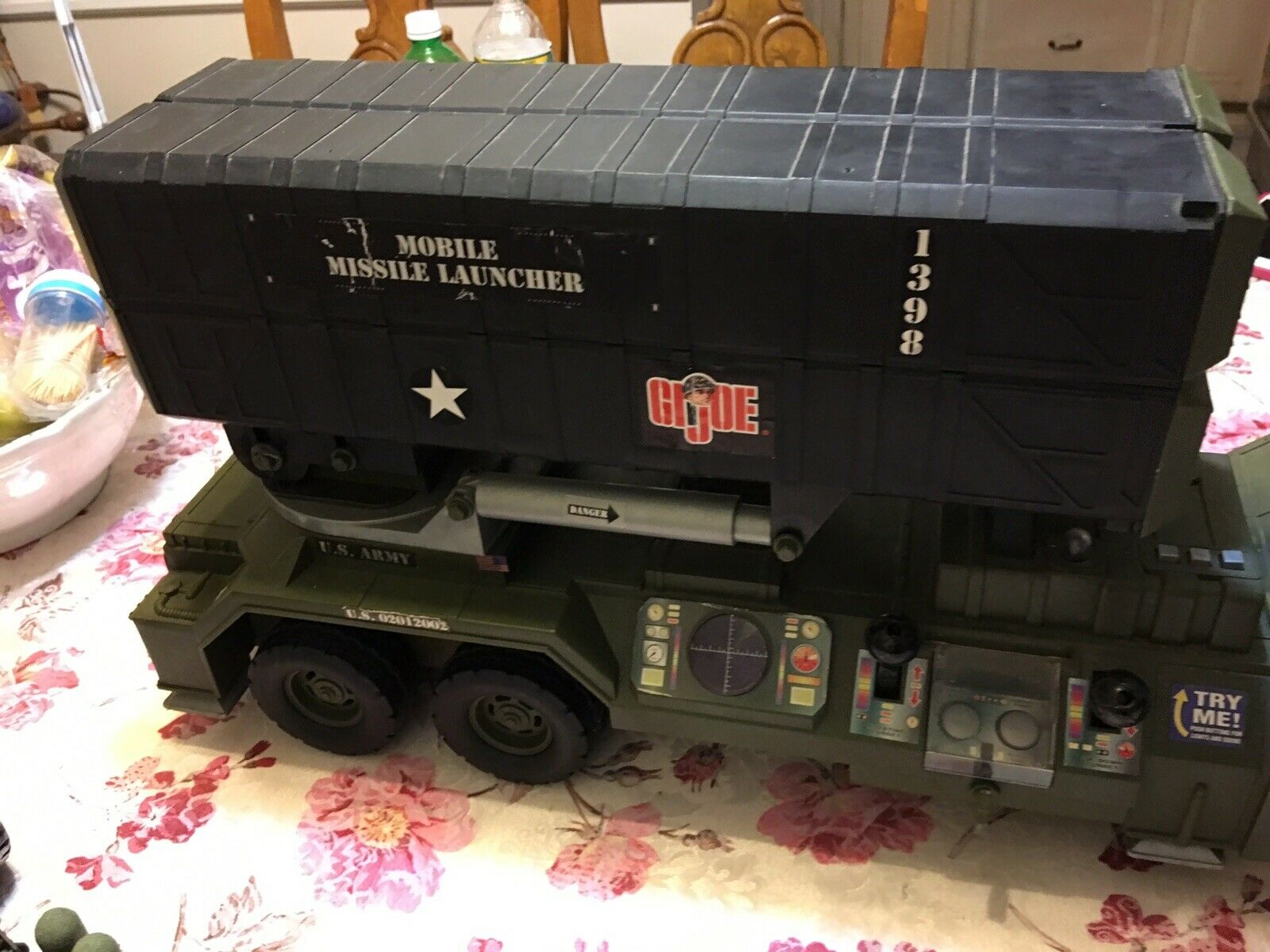 Rare G.I.Joe Mobile missle Launcher