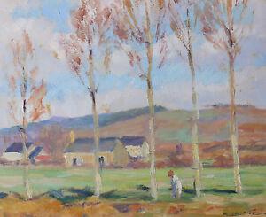 Agressif Roger Laisné (1901)postimpressionnisme Normandie Equeurdreville Manche Cherbourg Qualité SupéRieure (En)