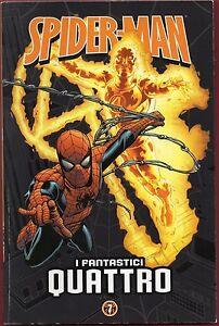 Spider-Man-N-7-I-Fantastici-Quattro-Corriere-Gazzetta-ITALIANO-USATO