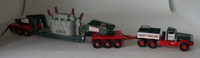Corgi  US55103 Diamond T980 Girder trailer & Transformer load Gerosa in 1:50
