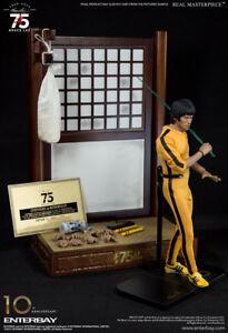 Bruce Lee Véritable Masterpiece 75th Anniversaire 1/6 Figurine 12″ Enterbay