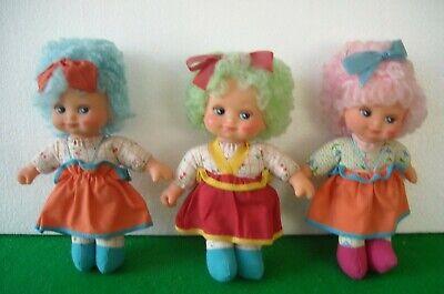 Di Animo Gentile Bambolina Con Capelli Di Lana Tirabaci Fiba Anni '80
