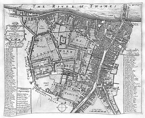 Antique-maps-Parishes-of-St-Saviours-Southwark-and-St-Georges