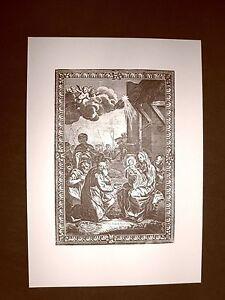 Litografia-Natale-L-039-adorazione-dei-Re-Magi-Breviarum-Romanum-del-1740-Ristampa