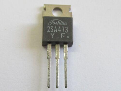 5 Stück TO220 2SA473-5pcs 2SA473Y Toshiba PNP Power Transistor 30V 3A 10W