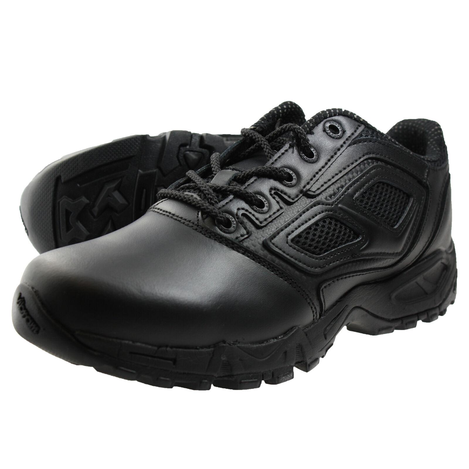 Venta de liquidación de temporada Barato y cómodo HiTec Magnum Elite Spider 3.0 utilizar seguridad zapatos negros hi-tec