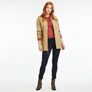 Timberland-Women-039-s-Mt-Holly-Waterproof-Khaki-Barn-Jacket-Size-XS-NWT