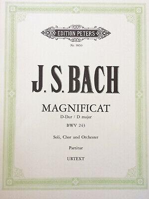 Billiger Preis Bach - Magnificat D-dur - Soli, Chor Und Orchester Bwv 243 QualitäT Und QuantitäT Gesichert