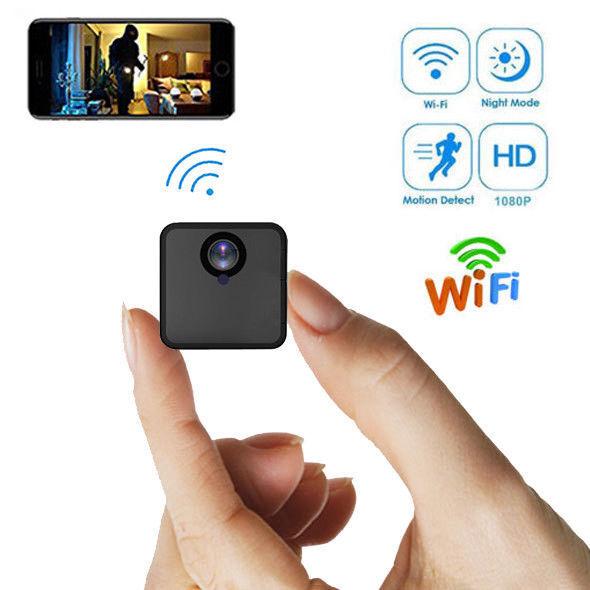 32gb Wlan Ip Live rojo Cámara de Vigilancia Detector Movimiento Visión Nocturna