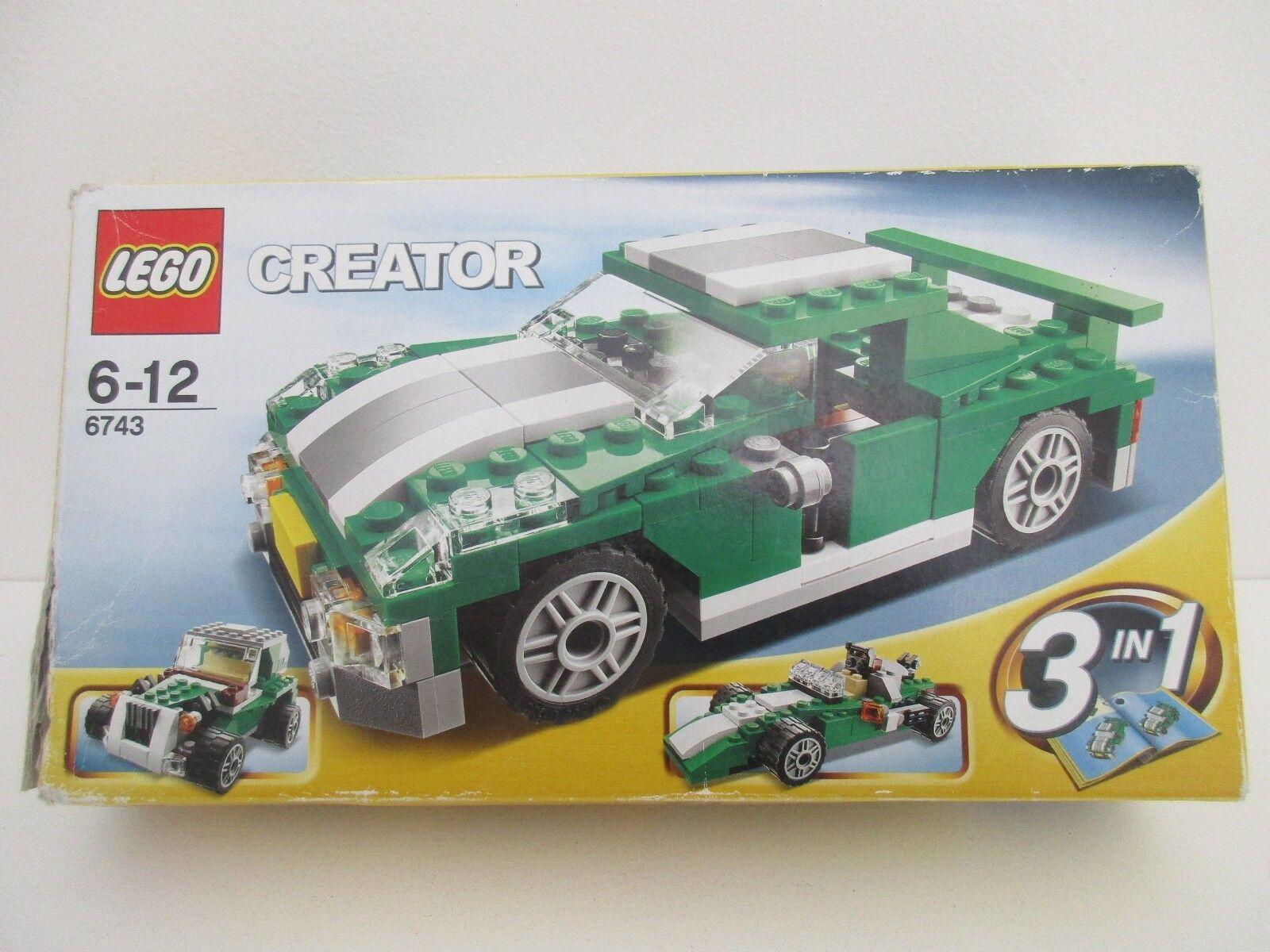 LEGO Creator 6743 STREET SPEEDER - Complet