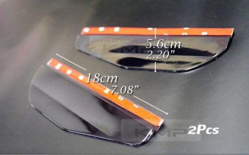 Smoke Window Vent Visors Side Mirror Rain Guard For HYUNDAI 2006-2011 Azera TG