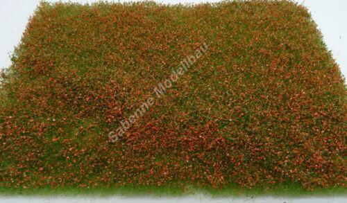 Polak 5971 Les Fleurs Sauvages Prairie Rouge 17,5x13cm