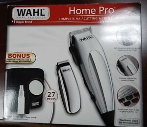 wahl home haircutting wahl home pro 27 pieces haircutting kit complete hair 5675