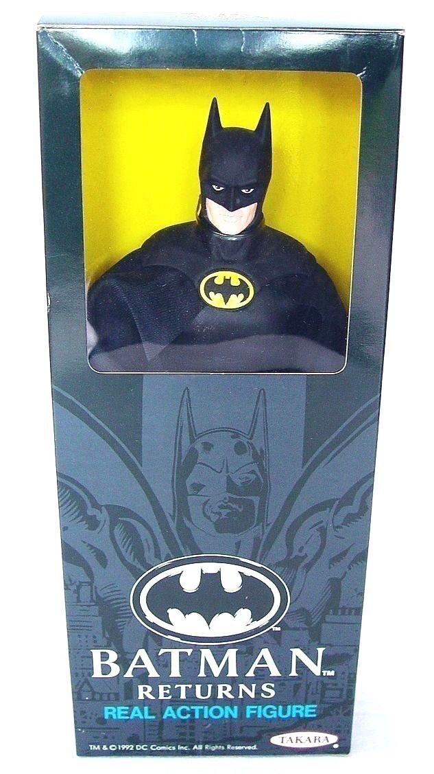 envío gratis Takara Japón DC Comics 12  Batman    Devoluciones  Película Figura de Acción  MIB`89   forma única