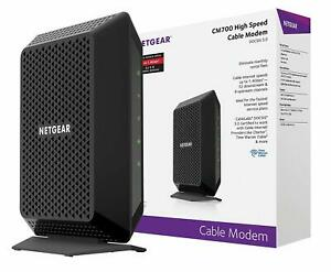 NETGEAR-CM700-DOCSIS-3-0-Gigabit-Cable-Modem-High-Speed-Up-To-1-4Gbps
