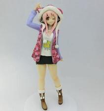 SUPER SONICO Figure TORA Parker Ver. (Pink) Japan Anime PVC