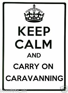 KEEP-CALM-AND-CARRY-ON-CARAVANNING-Wall-Art-Vinyl-Sticker-17-Colours-2-Sizes
