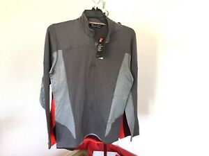 c5129ffdc6 Details about NWT 2018 UA under armour Spectra 1/2 Zip Mens L Large Shirt  Fleece Layer we60