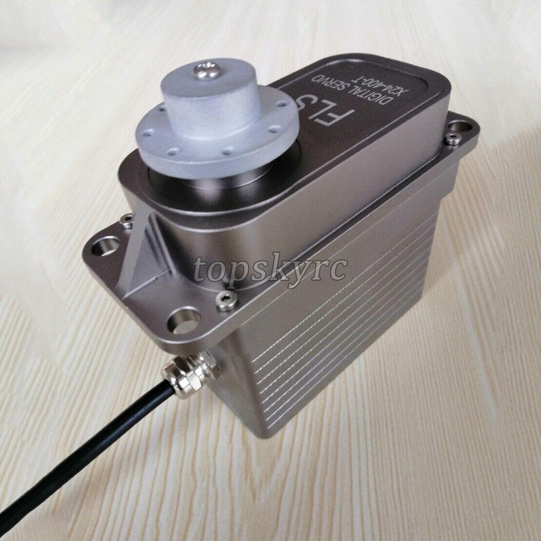 FLS X24-400-T Digital Steering Gear 400kg cm 24V Waterproof Steering Gear sztop