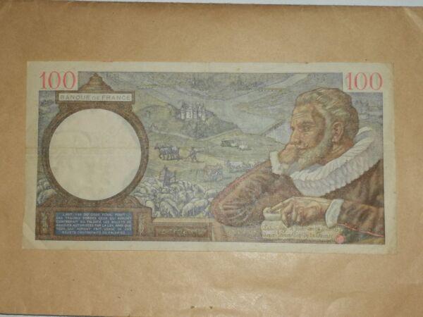 100% Vrai Billet 100 Francs 1940