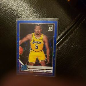 TALEN HORTON TUCKER 2019-20 OPTIC BLUE VELOCITY PRIZM SP ROOKIE RC! Lakers!