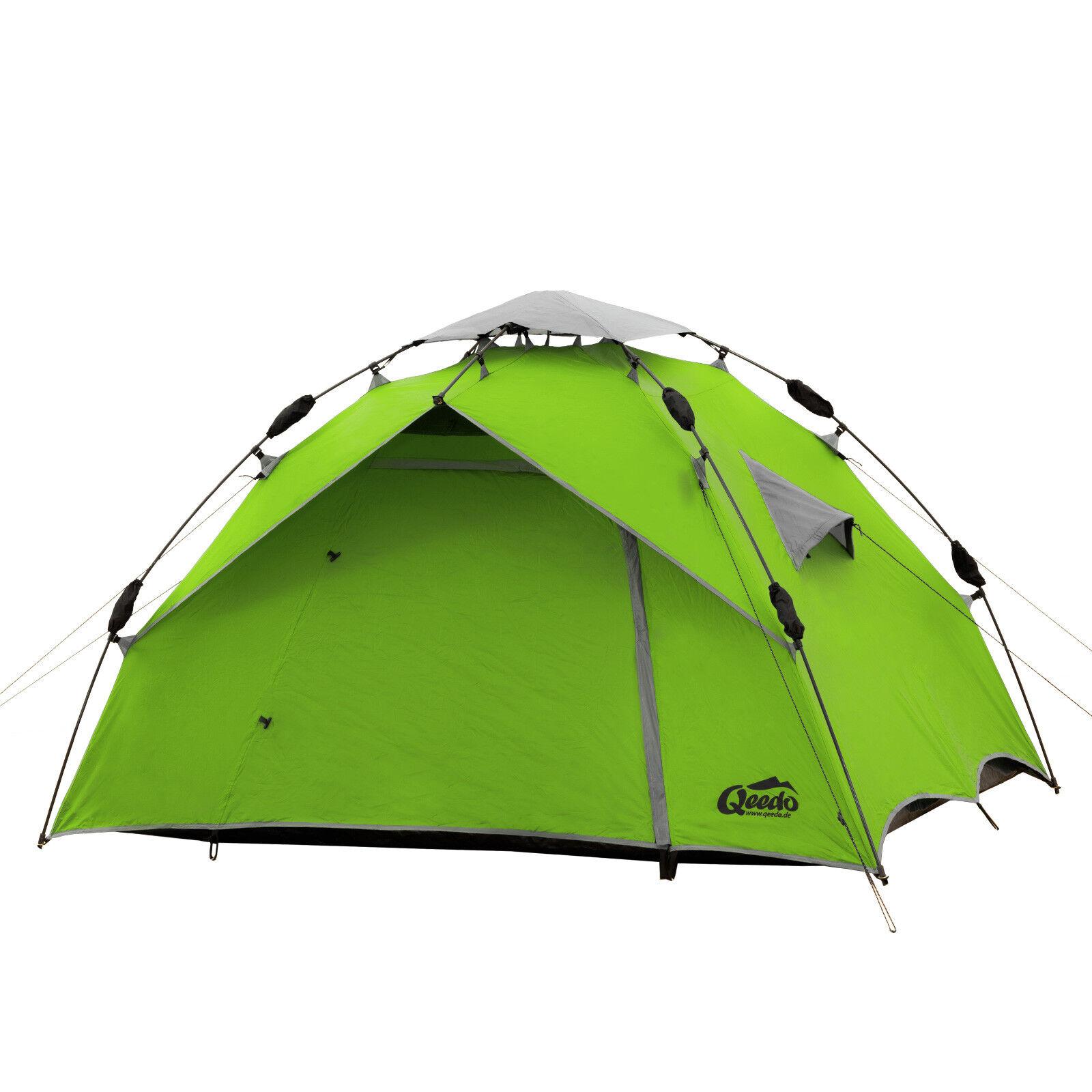 QEEDO 2 Mann Zelt Quick Ash 2 Sekundenzelt Campingzelt Igluzelt Igluzelt Igluzelt Pop Up Zelt 76ab5b