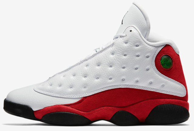 reputable site 04c40 49d0e Nike Air Jordan Retro 13 XIII OG Wht Blck True Red CHICAGO 414571-122