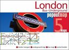London Bus and Underground PopOut Map by Compass Maps (Sheet map, folded, 2014)