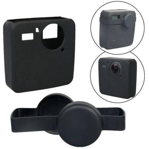 CARCASA Funda Cubierta Protectora De Silicona & tapa de lente para cámara deportiva GoPro Fusion