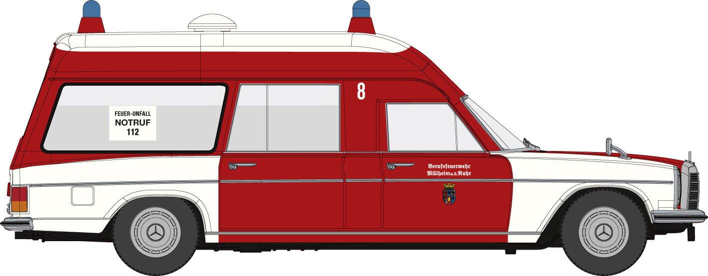 Brekina Starmada 13817 Mercedes Benz    8 Japón Binz Bombero Mühlheim Ho 1 87 bea5da