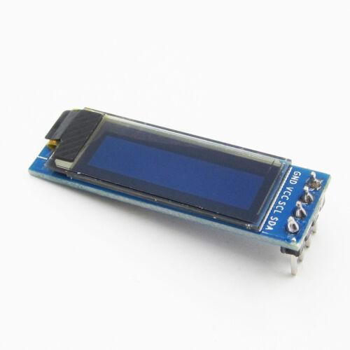 PIC Arduino 0.91/'/' 128x32 IIC I2C Weiß OLED LCD Display DIY 3.3V 5V AIP