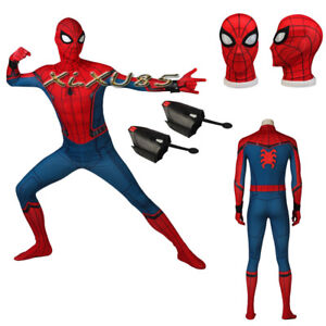 24568725e8c Newest Civil War Spiderman 3D Shade Spandex Fullbody Cosplay Costume ...