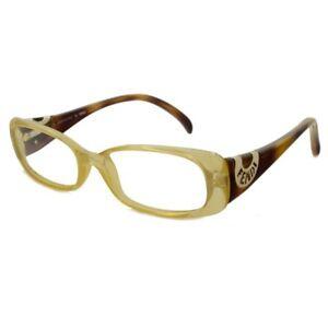 51414b3b4065  334 FENDI WOMEN S AUTHENTIC GOLD EYEGLASSES FRAME GLASSES F 847 832 ...