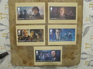 2020 GB de Royal Mail PHQ Postal Set-Sherlock Holmes/Arthur Conan Doyle