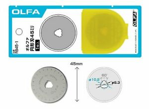 Quilting Sewing OLFA Circle Blade 45mm RB45-10