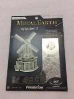 Fascinations Metal Earth Works 3D Laser Cut Model WindMill MMS38 Toys