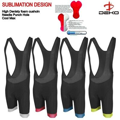 Deko New Cycling Bib Shorts Gel Padded Cycle Pant Shorts Cycling Tight Shorts