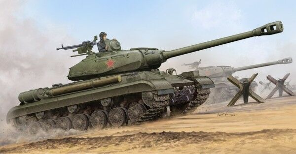 Soviet Js-4 Heavy Tank 1 35 Plastic Model Kit TRUMPETER