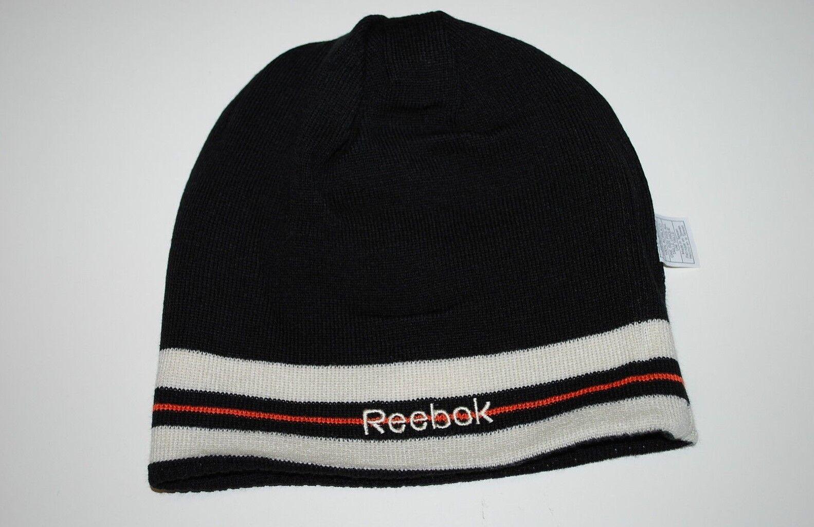 Philadelphia Knit Flyers Reebok NHL Winter Classic Reversible Knit Philadelphia Hockey Beanie 9f6d5a