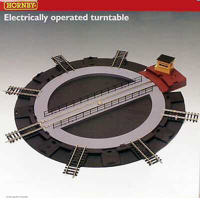 LIMA HORNBY H0 1:87 ELECTRICALLY OPERATED TURNTABLEI ART R070 R 070