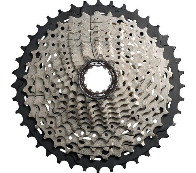 Shimano CS-M7000 MTB Fahrrad-Kassette SLX 11-fach Silber 11-40 11-42 11-46