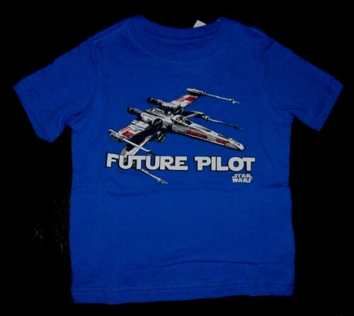 STAR WARS FUTURE PILOT X-WING SPACESHIP BABY BOY GIRL T SHIRT TOP 2T