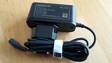 ORIGINAL Nokia AC-10E Netzteil / Ladekabel / MicroUSB-Anschl. für viele Geräte !