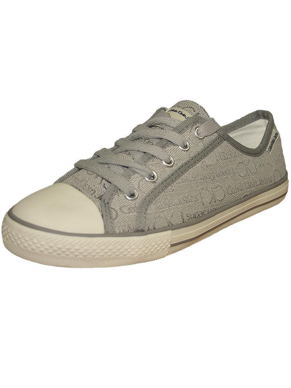 Calvin Klein Jeans Damen Sneaker Schuhe *Wylie* in Ivory Grau Neu+OVP!